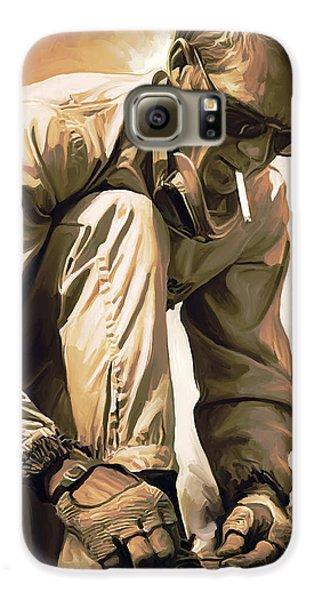 Steve Mcqueen Artwork Galaxy S6 Case by Sheraz A