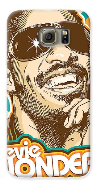 Stevie Wonder Pop Art Galaxy S6 Case by Jim Zahniser