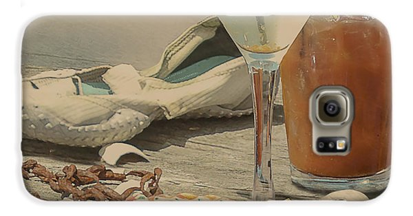 Still Life - Beach With Curves Galaxy S6 Case by Jeff Burgess