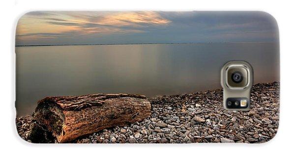 Stone Beach Galaxy S6 Case by James Dean