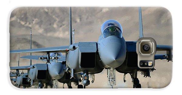 Strike Eagles Galaxy S6 Case by Master Sgt Lee Osberry