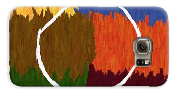 Strokes Of Colour Galaxy S6 Case by Condor