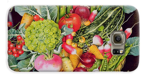 Summer Vegetables Galaxy S6 Case by EB Watts