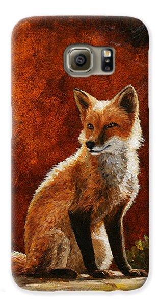 Sun Fox Galaxy S6 Case by Crista Forest