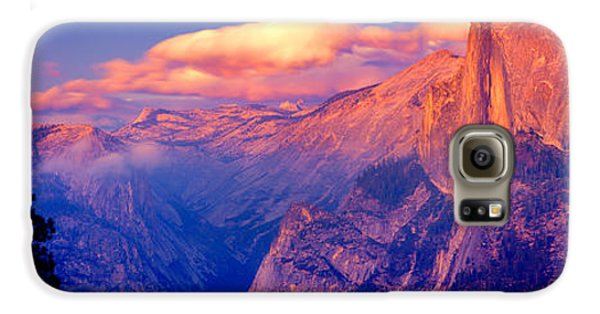 Sunlight Falling On A Mountain, Half Galaxy S6 Case by Panoramic Images