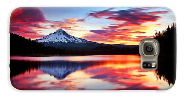 Sunrise On The Lake Galaxy S6 Case by Darren  White