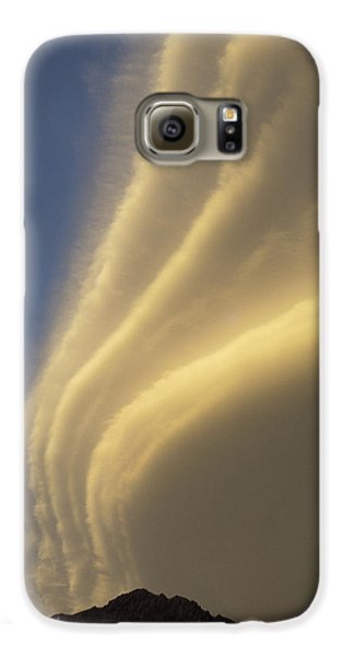 Sunset On Storm Clouds Near Mt Cook Galaxy S6 Case by Ian Whitehouse