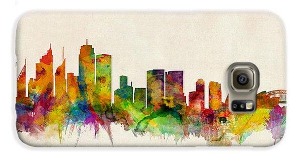 Sydney Skyline Galaxy S6 Case by Michael Tompsett