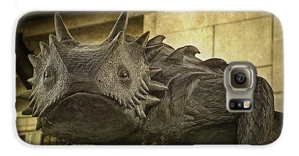 Tcu Horned Frog Galaxy S6 Case by Joan Carroll