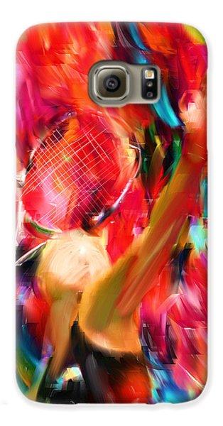 Tennis I Galaxy S6 Case by Lourry Legarde