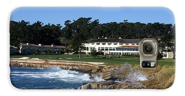 The 18th At Pebble Beach Galaxy S6 Case by Barbara Snyder