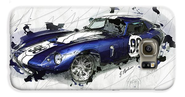 The 1965 Ford Cobra Mustang Galaxy S6 Case by Gary Bodnar