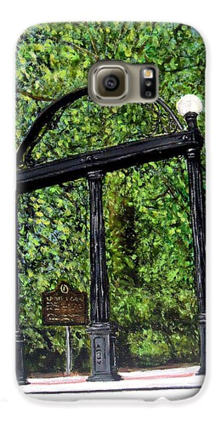 The Arch - University Of Georgia- Painting Galaxy S6 Case by Katie Phillips