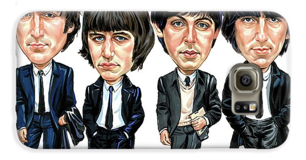 The Beatles Galaxy S6 Case by Art