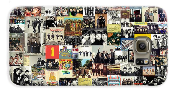 The Beatles Collage Galaxy S6 Case by Taylan Soyturk