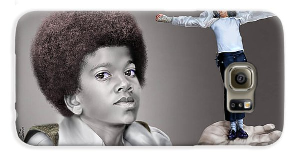 The Best Of Me - Handle With Care - Michael Jacksons Galaxy S6 Case by Reggie Duffie