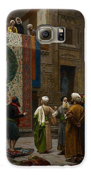 The Carpet Merchant Galaxy S6 Case by Jean Leon Gerome
