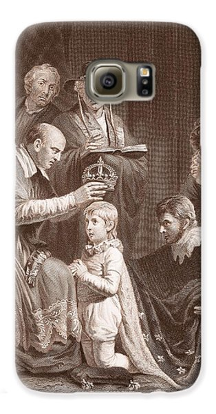 The Coronation Of Henry Vi, Engraved Galaxy S6 Case by John Opie