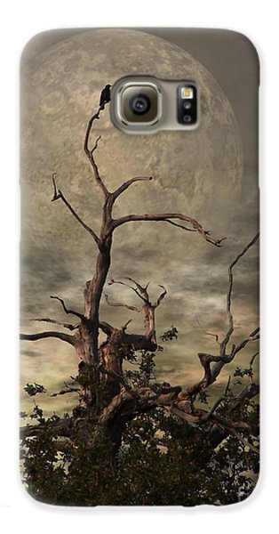 The Crow Tree Galaxy S6 Case by Isabella Abbie Shores