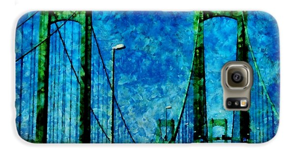 The Delaware Memorial Bridge Samsung Galaxy Case by Angelina Vick