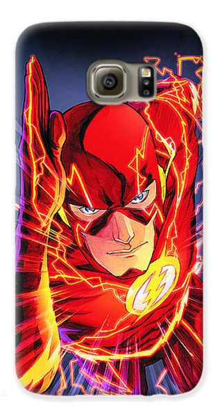 The Flash Galaxy S6 Case by FHT Designs