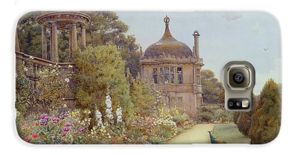 The Gardens At Montacute In Somerset Galaxy S6 Case by Ernest Arthur Rowe