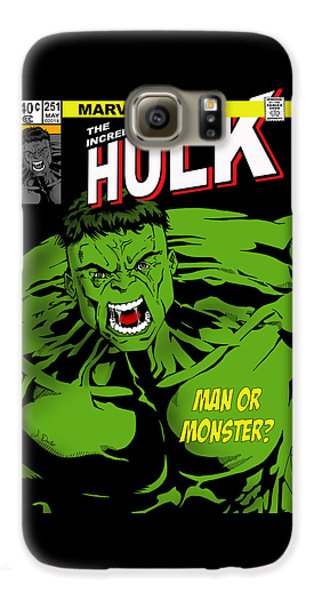 The Incredible Hulk Galaxy S6 Case by Mark Rogan