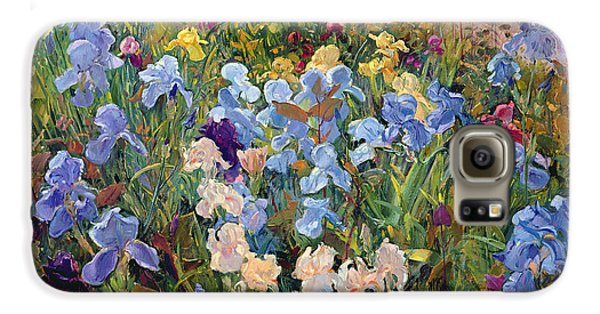 The Iris Bed Galaxy S6 Case by Timothy Easton