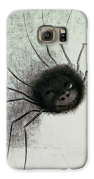 The Laughing Spider Galaxy S6 Case by Odilon Redon