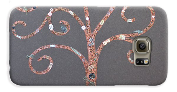 The Menoa Tree Galaxy Case by Angelina Vick