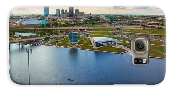 The Oklahoma River Galaxy S6 Case by Cooper Ross