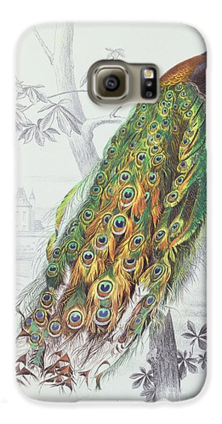 The Peacock Galaxy S6 Case by A Fournier