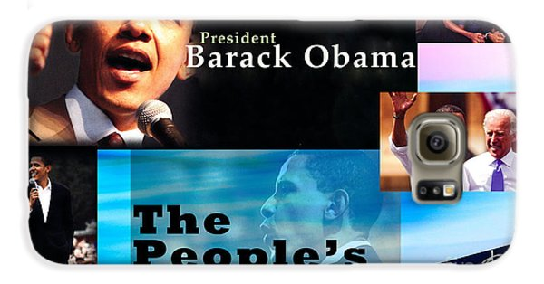 The People's President Still Galaxy S6 Case by Terry Wallace