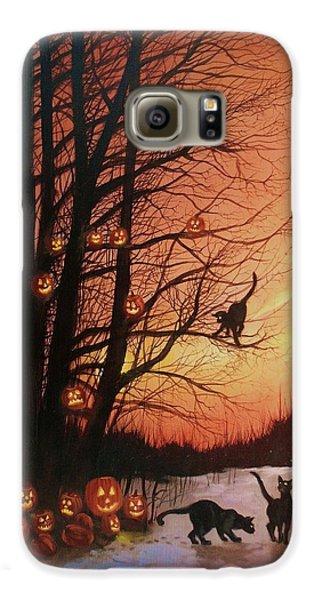 The Pumpkin Tree Galaxy S6 Case by Tom Shropshire