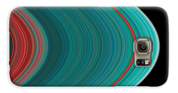 The Rings Of Saturn Galaxy S6 Case by Anonymous