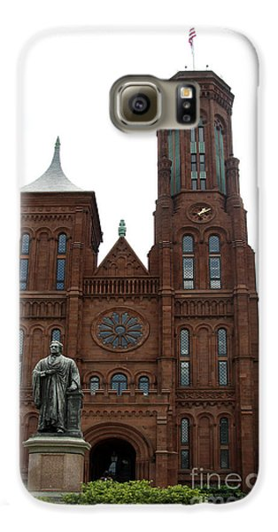 The Smithsonian - Washington Dc Galaxy S6 Case by Christiane Schulze Art And Photography