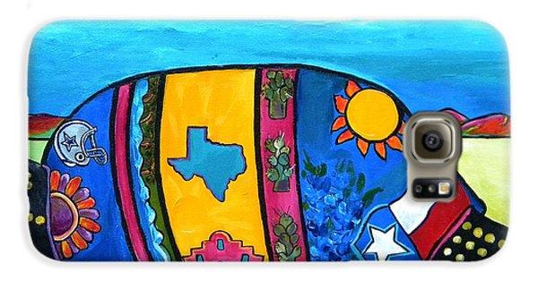 The Texas Armadillo Galaxy S6 Case by Patti Schermerhorn