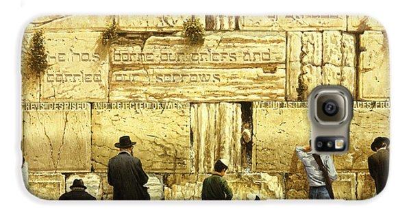 The Western Wall  Jerusalem Galaxy S6 Case by Graham Braddock