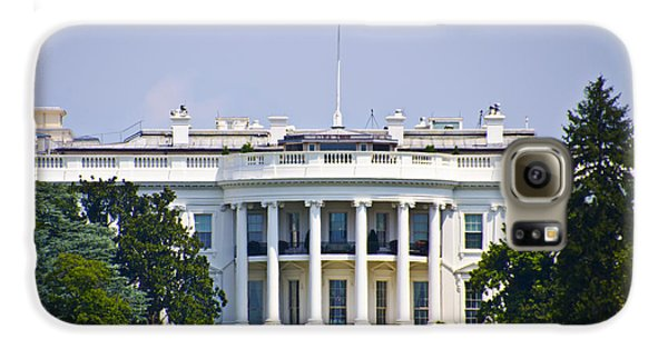 The Whitehouse - Washington Dc Galaxy S6 Case by Bill Cannon