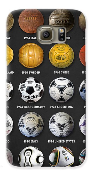 The World Cup Balls Galaxy S6 Case by Taylan Soyturk