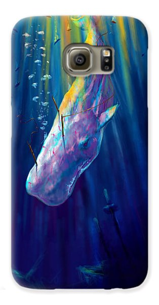 Thew White Whale Galaxy S6 Case by Yusniel Santos