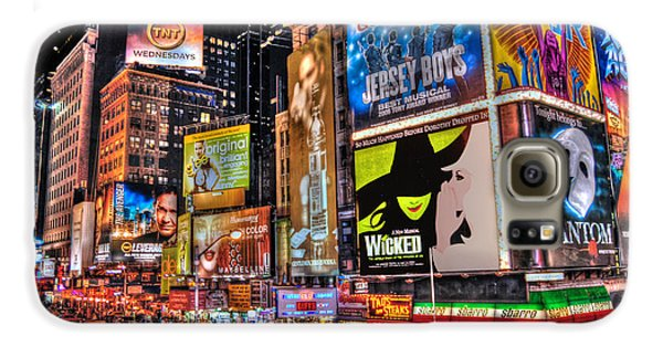 Times Square Galaxy S6 Case by Randy Aveille