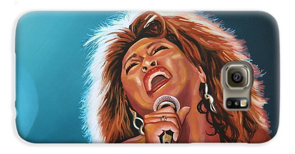 Tina Turner 3 Galaxy S6 Case by Paul Meijering