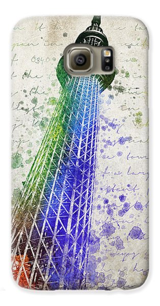 Tokyo Skytree Galaxy S6 Case by Aged Pixel