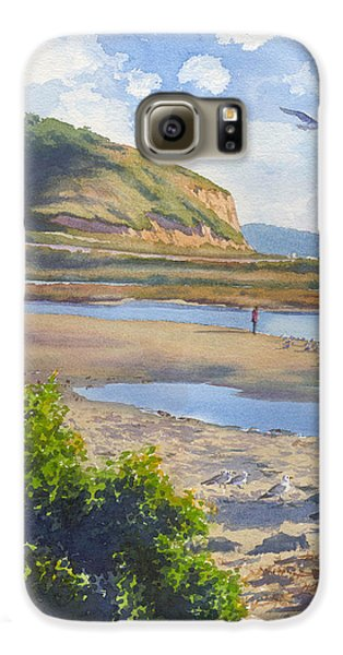 Torrey Pines Inlet Galaxy S6 Case by Mary Helmreich