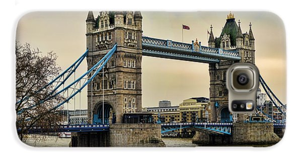 Tower Bridge On The River Thames Galaxy S6 Case by Heather Applegate