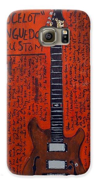Trey Anastasio Languedoc Guitar Galaxy S6 Case by Karl Haglund