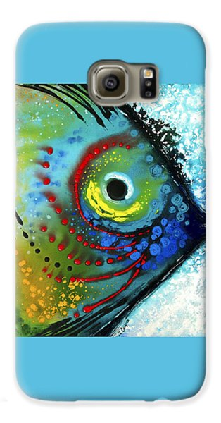 Tropical Fish - Art By Sharon Cummings Galaxy S6 Case by Sharon Cummings