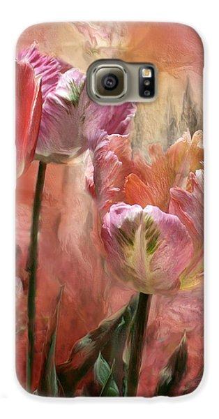 Tulips - Colors Of Love Galaxy S6 Case by Carol Cavalaris