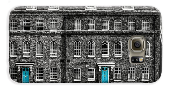 Turquoise Doors At Tower Of London's Old Hospital Block Galaxy S6 Case by James Udall